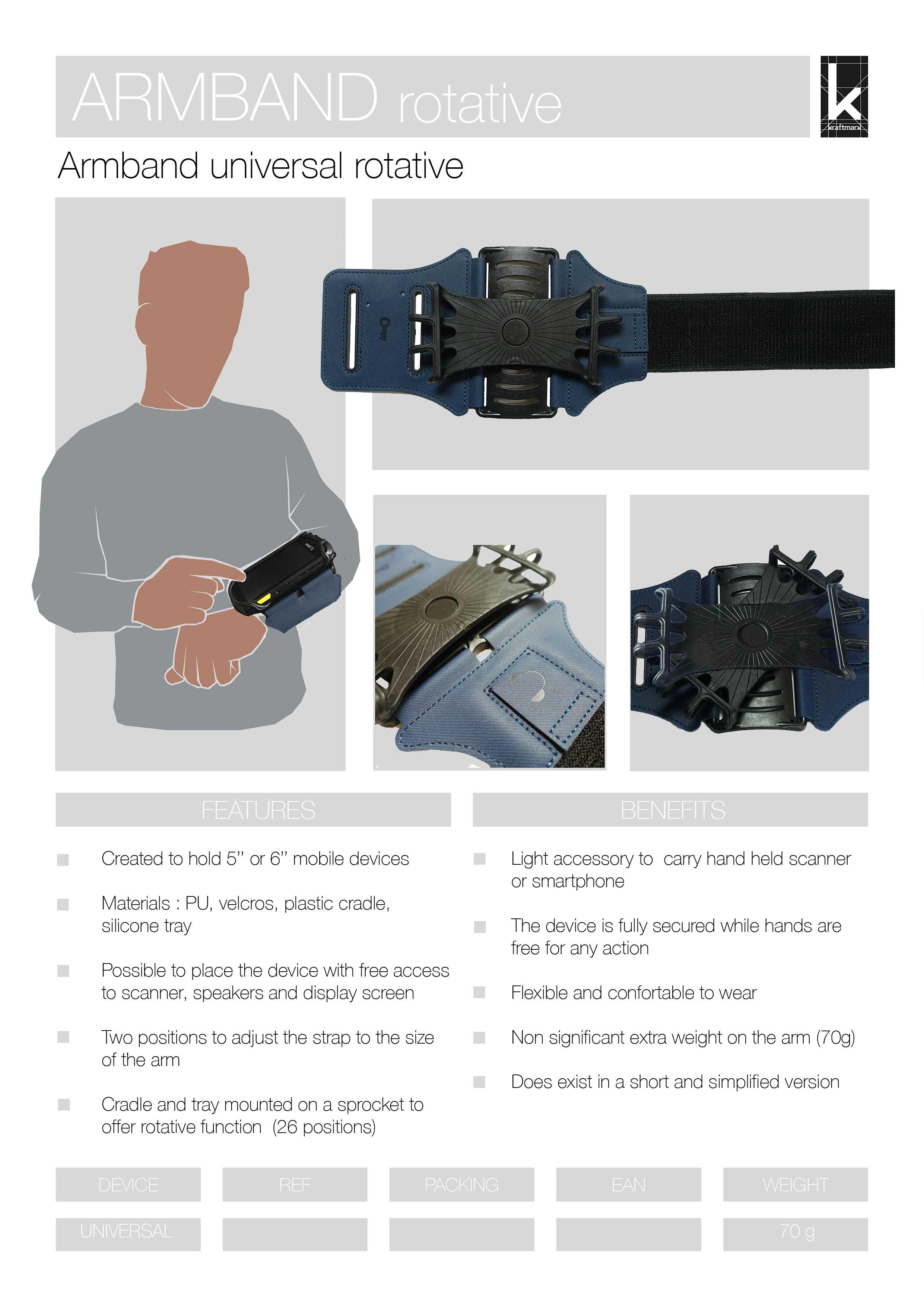 Armband rotative